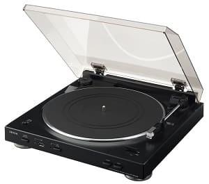 Denon Plattenspieler - Denon DP 200 USB Denon Plattenspieler in schwarz