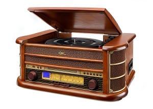 Stereoanlage mit Plattenspieler - Dual NR 4 Nostalgie Musikanlage