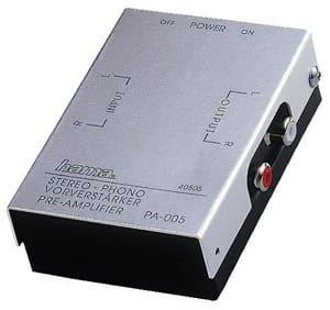 Vorverstärker Plattenspieler - Hama Stereo-Phono-Vorverstärker PA-005