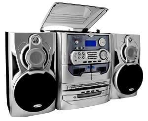 Kompaktanlage mit Plattenspieler - Karcher KA 5300 Kompaktanlage mit Plattenspieler