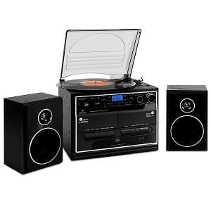 Kompaktanlage mit Plattenspieler - Auna 388-BT