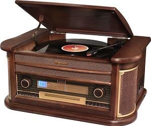 Stereoanlage mit Plattenspieler - Roadstar HIF-1899TUMPK