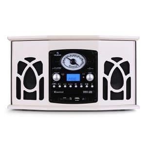 Stereoanlage mit Plattenspieler - Auna NR-620 Vintage